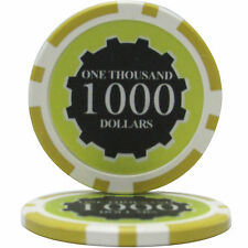 100pcs Eclipse Poker Chips $1000
