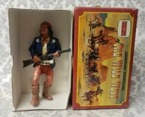COMANSI The Wild West, Vintage Toy Action Figure PVC - GERONIMO American Indian