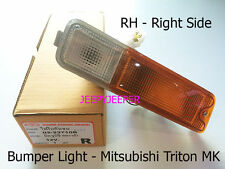 RH Front Bar Indicator Bumper Light Lamp Mitsubishi Triton MK L200 Pickup 96-06
