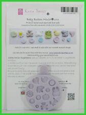 Karen Davies Sugarcraft - Sugarpaste Silicon Mould - Baby Button 2013