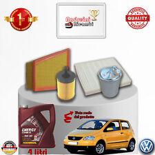 Filtres Kit D'Entretien + Huile VW Fox 1.4 Tdi 51KW 70CV à Partir De 2006->