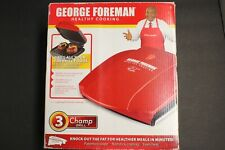 George Foreman Champ Grill, Red Color!