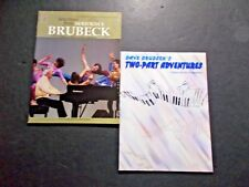 * Brubeck Selections +-Two Part Adventures Songbooks 2 pcs