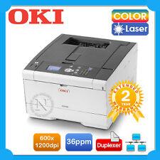 OKI C612dn Color Laser Network Printer+Duplex P/N:46406004DN+BONUS 3 Yr Warranty