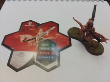 Heroscape Miniatures - Me-Burq-Sa (Utgar's Rage) mini with card