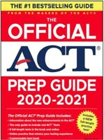 The Official ACT Prep Guide 2020-2021 made by ACT creators (electronic P D F)