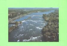 OO POSTCARD AERIAL VIEW OF THE RAPIDS CHAMBLY P QUEBEC
