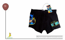 DC COMICS Batman Briefs Boxer Trunks Underwear BNWT Boys XL 10-12 Y/OL Free Post