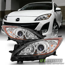 2010 2011 2012 2013 Mazda 3 Mazda3 Halogen Headlights Headlamps 10-13 Left+Right