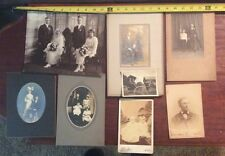 8 VINTAGE PHOTO'S, mixed lot some over 100 years old. Area, Buffalo, NY (#4)