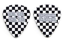 Cheap Trick Tom Petersson Black White Checkerboard Guitar Pick - 2012 Tour