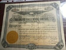 * The Golden Eagle Mining Co Wisconsin
