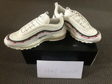 Nike x UNDFTD Undefeated Air Max 97 Sail Red White Size 8 US 7 UK 41 EUR NDS