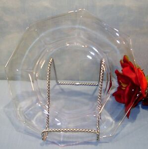Pink Depression Glass Octagon Luncheon Plates 8 inch