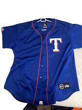 Vintage Majestic Texas Rangers Jersey