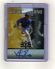 #3/5 (ONLY 5 1/1) 2011 LEAF VALIANT BLACK AUTO AUTOGRAPH ANDREW OLIVER RC $100?