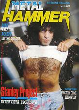 METAL HAMMER 5 1989 Paul Stanley Bob Kulick Accept Kreator Cult Joan Jett Magnum