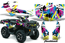 Can Am AMR Racing Graphics Sticker Kits ATV CanAm Outlander SST Decals 2012 FLSH