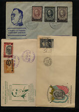 President Roosevelt stamps on cover many nice cachets Look Kel0419