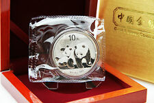 CHINA - 1 oz Silberpanda in der Folie 2010 - SONDERAKTION