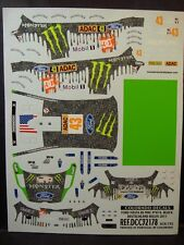 DECALS 1/32 FORD FIESTA RS WRC #43 K.BLOCK ALLEMAGNE 2011   - COLORADO  32178