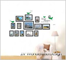 Photo frame Wall Stickers Vinyl Decal Removable Art DIY Windows Home Decor Paper
