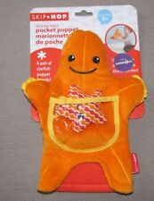 SKIP HOP SKIPHOP OCEAN PALS ORANGE STARFISH STAR FISH UNDER THE SEA PUPPET TOY