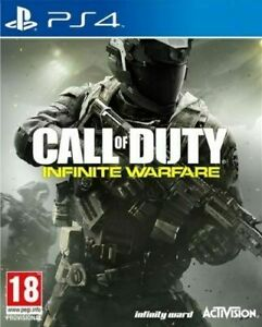Call of Duty INFINITE WARFARE PS4 PRISTINE 1st Class FAST and FREE DELIVERY