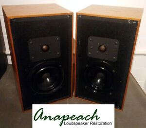Heybrook HB2 Loudspeakers - Fully rebuilt with exactly matched components