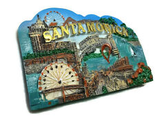 Santa monica California SOUVENIR RESIN 3D FRIDGE MAGNET SOUVENIR TOURIST GIFT102