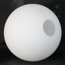 Lampenschirm Lampenglas Leuchtenglas Glaskugel Ø80mm - G9, Opalglas weiß matt
