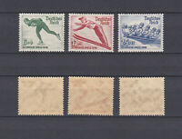 GERMAN REICH 1935 Olympic Game Berlin Mint ** B79-B81 (Mi.600-602)