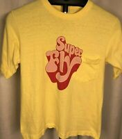 Vintage SUPERFLY Movie Promo T-Shirt 1972 70s Ron O'Neal Film RARE VTG Retro