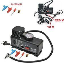 Compressore aria compressa per auto 12V casa 220V,canotto,bici,moto,ruote,ac/dc