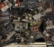 Huge hockey card pack lot! Guaranteed 2 Hits Per Pack! Rc's, Autos, Memorabilia!