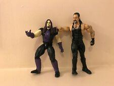 WWF/WWE ACTION FIGURE JAKKS PACIFIC LOT OF 2 UNDERTAKER 2003