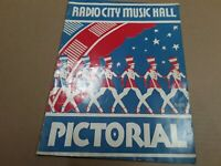 Radio City Music Hall Vintage Pictorial Magazine. 25 Cent Copy. Collectibles