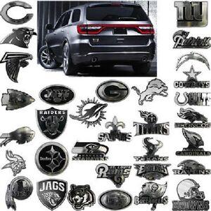 NFL 3-D Automotive Team Chrome Emblem By Team ProMark -Select- Team Below