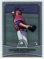 2010 Bowman Platinum #91 JASON HEYWARD RC Rookie (Braves) (Cubs) NM
