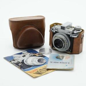 Kodak Medalist II Camera with Ektar 100mm F/3.5 Lens