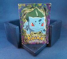 "Pokemon ""Bulbasaur"" Topps Nintendo Stage 1 #1 Single Card"