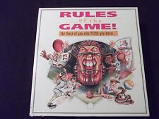 Rules of the Game Sports Trivia Question Board Game Baseball Football Golf