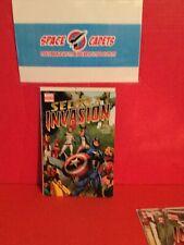 Secret Invasion #1 2nd Print Marvel Comic Yu Wrap Around Var Thor Ms Marvel Cap