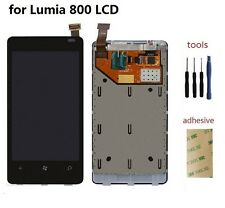 LCD Display + Touch Screen Glass Digitizer Panel Assembly for Nokia Lumia 800