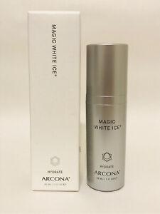 ARCONA Magic White Ice Hydrate AM/PM 1.17oz NEW Scuffed Box