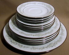 Noritake Donegal Lot of 12 Pieces 1 dinner 4 salad 4 bread plates 3 saucers