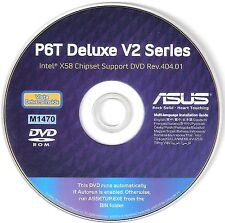 ASUS P6T DELUXE V2  Motherboard Drivers Installation Disk M1470