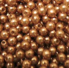 Rockin Beads Acrylic Round Pearl Spacer Loose Beads 4mm 6mm 8mm Mix Colors U-Pic