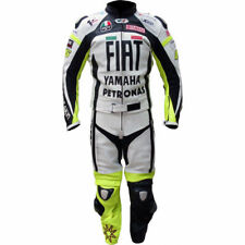 YAMAHA FIAT 2PC Motorcycle Riding Leather Suit-Motorbike Racing MotoGp-ALL Sizes