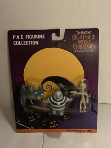 The Nightmare Before Christmas PVC Figures Bat, Corpse Boy & Mummy Jun Planning